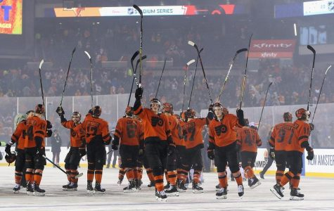 Flyers Pull Off Comeback Win In Stadium Series