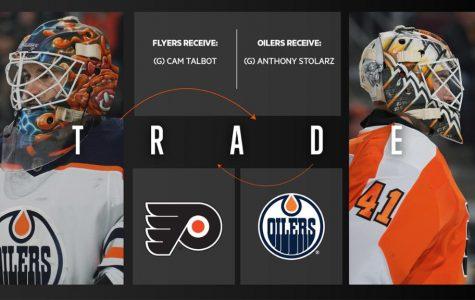 Flyers Land Cam Talbot In Goalie Swap With Edmonton