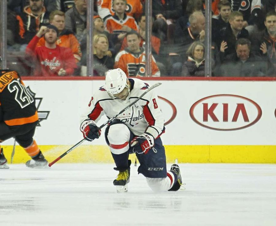 Capitals%27+Nicklas+Backstrom+celebrates+a+goal+in+the+Capitals%27+5-3+win+over+Philadelphia+on+Wednesday+night.
