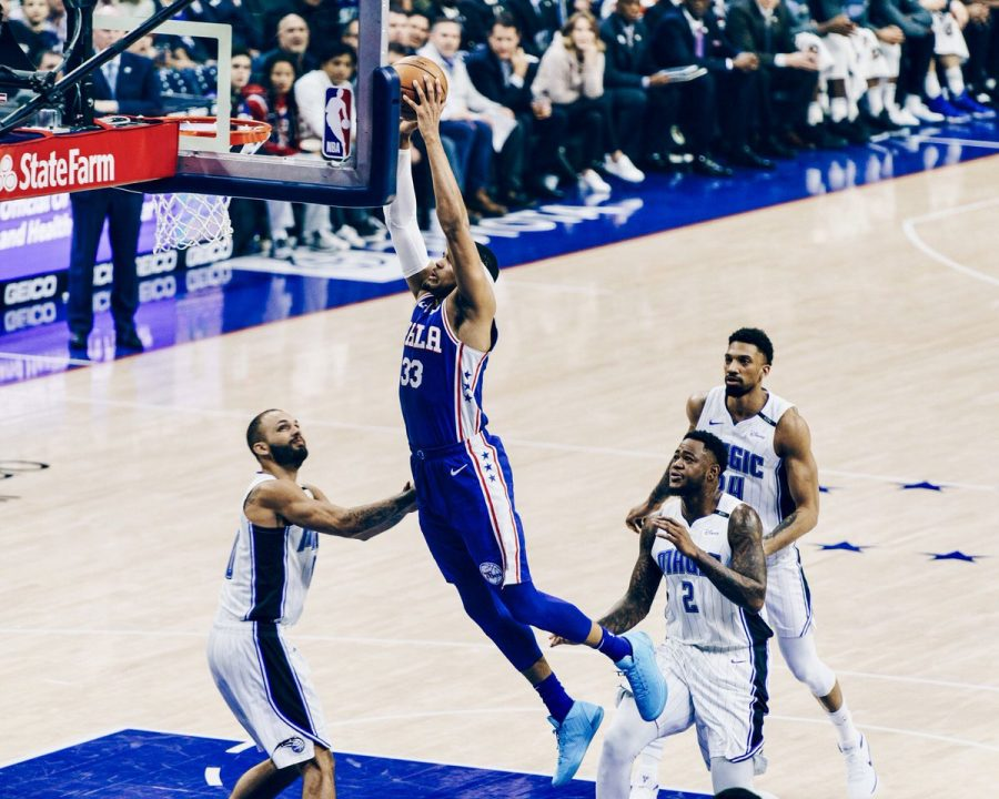 Sixers+Tobias+Harris+throws+down+a+dunk+in+the+Sixers+114-106+win+over+the+Orlando+Magic+on+Tuesday+night.
