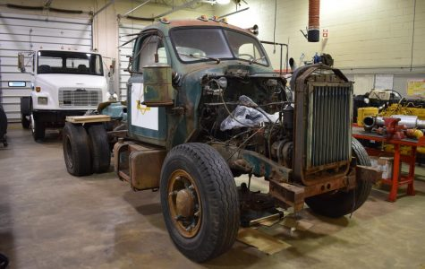 Remarkable Restoration: Tech Students Working to Bring 1959 Truck Back to Life