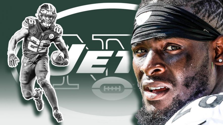 Leveon+Bell+Officially+Signs+With+Jets