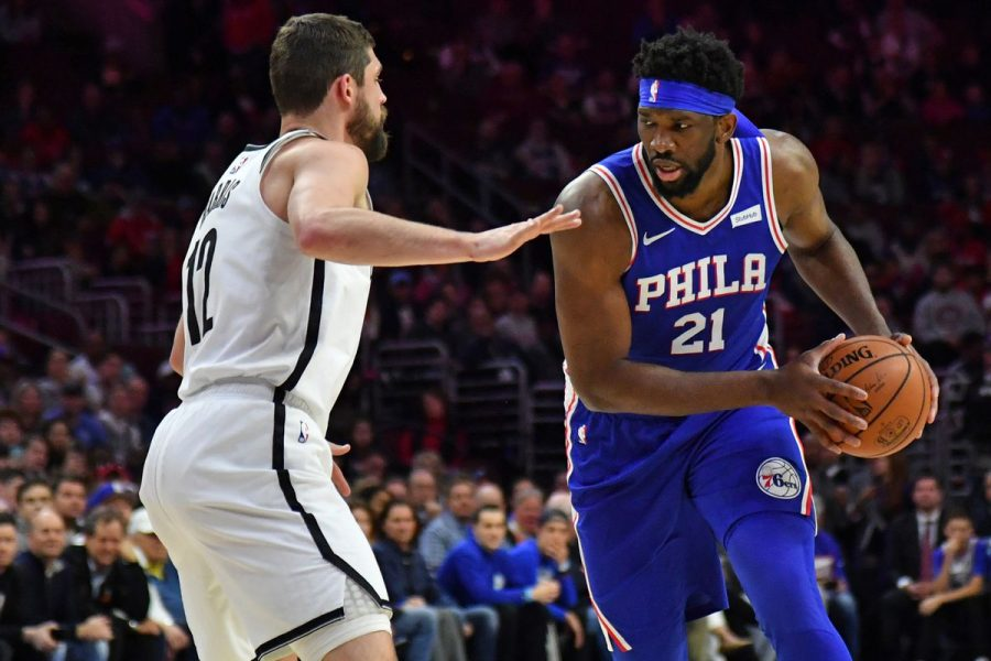 Sixers' Joel Embiid dropped 39 points and 15 rebounds on the Brooklyn Nets on Thursday.