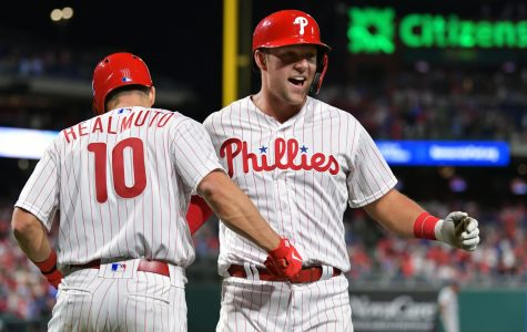 Hoskins' Homers Twice In Phillies 4-3 Win