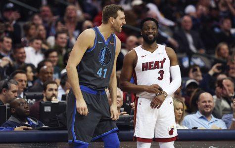 Dirk & D-Wade Kiss Their NBA Homes Goodbye