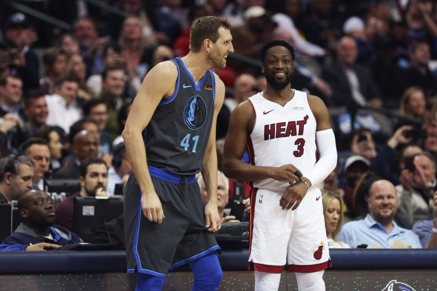 Dirk+%26+D-Wade+Kiss+Their+NBA+Homes+Goodbye