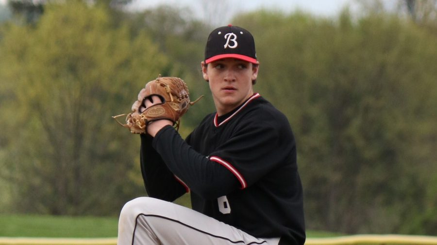 Boyertown+Baseball%27s+pitcher+Trey+Yesavage%2C+sophomore%2C+threw+a+complete+game+no-hitter+with+8+strikeouts+on+May+2nd%2C+as+the+Bears+defeated+Phoenixville+2-0.