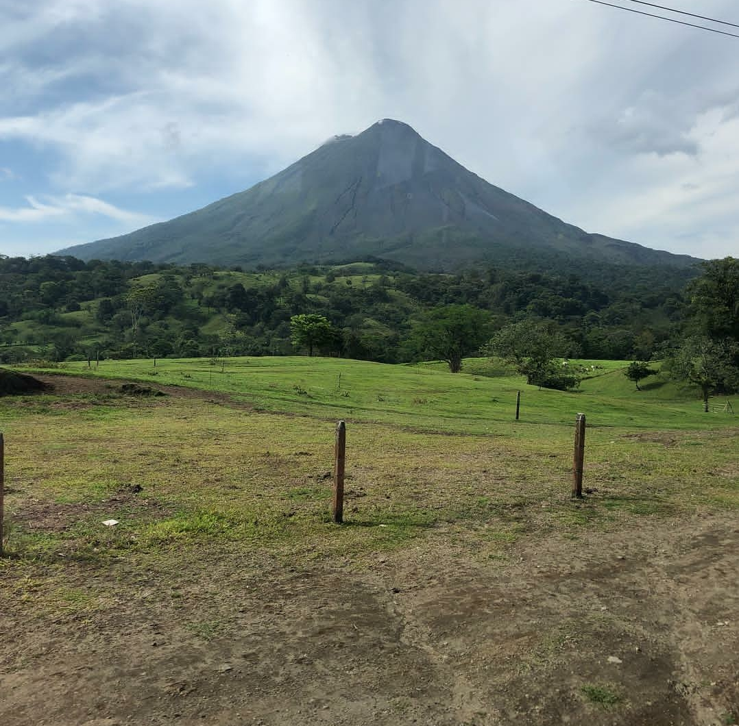 The Poas Volcano, where Costa Rica Trip students climbed to view one of the smoking craters. The volcano erupted two days prior to students visiting.