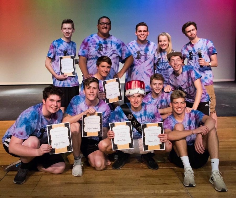 All+of+the+Mr.+Boyertown+contestants%2C+along+with+the+host+and+last+year%27s+winner.+Some+won+awards+for+topics+such+as+%22Most+Money+Raised%22.