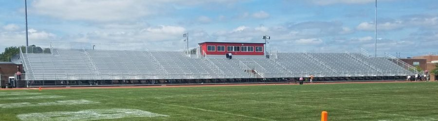 The+new+bleachers+made+out+of+aluminum%2C+costing+around+%241+mil.