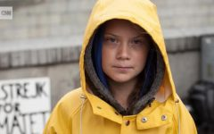 Greta Thunberg, sixteen-year-old climate change activist who spent weeks crossing the Atlantic Ocean on a zero-emissions boat and spoke to world leaders at the 2019 UN Climate Summit in New York.