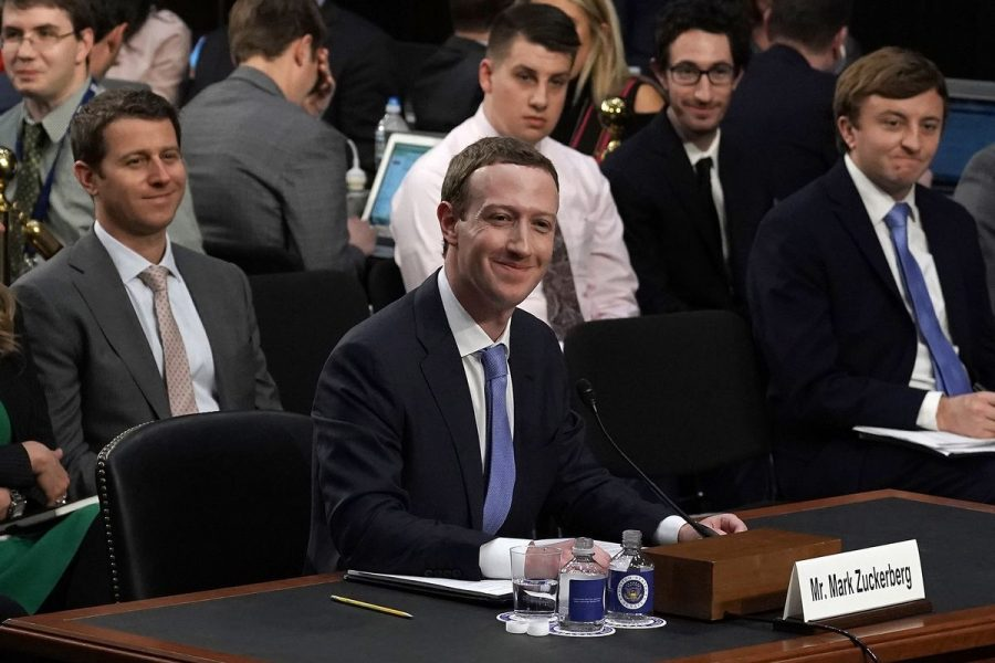Mark Zuckerberg, founder of the Libra project, subject to interrogation from an incompetent Congress.