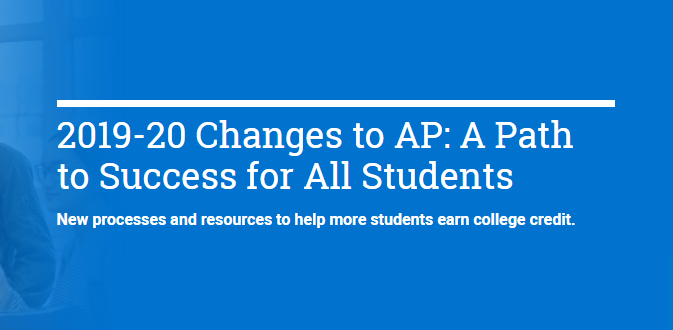 Collegeboard introduces new AP changes for this coming school year, which is subject to much criticism.