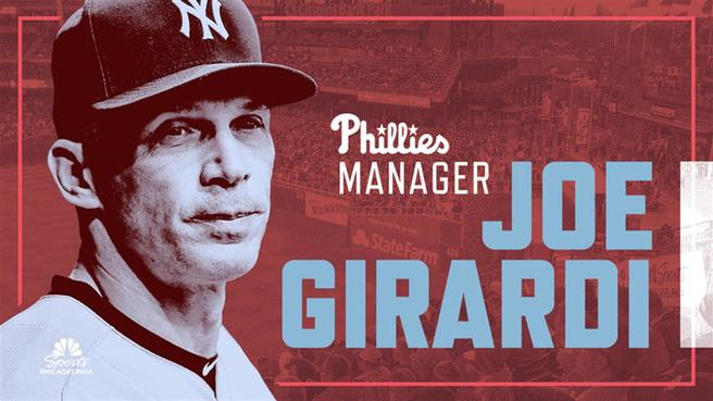 The Phillies hired former Yankees' manager Joe Girardi as their new manger on Thursday.