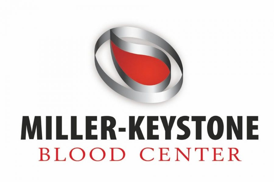 Miller-Keystone Blood Center distributes blood donations to the Reading Area, with the tag-line,