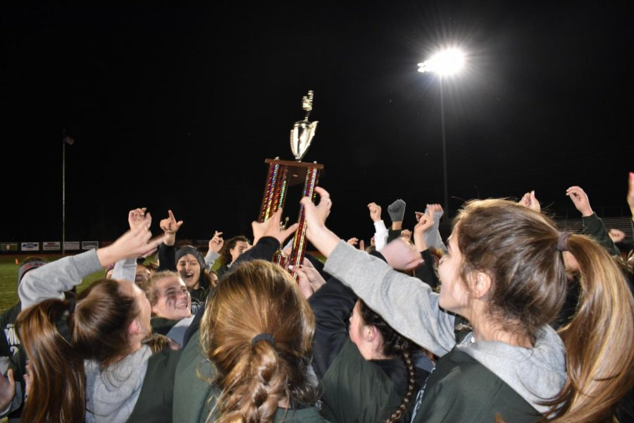 Seniors won PowderPuff this year, bringing out their second win in a row.