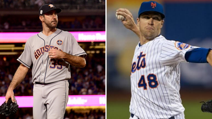 Houston Astros' Justin Verlander and New York Mets' Jacob deGrom were named the 2019 MLB Cy Young Award Winners.