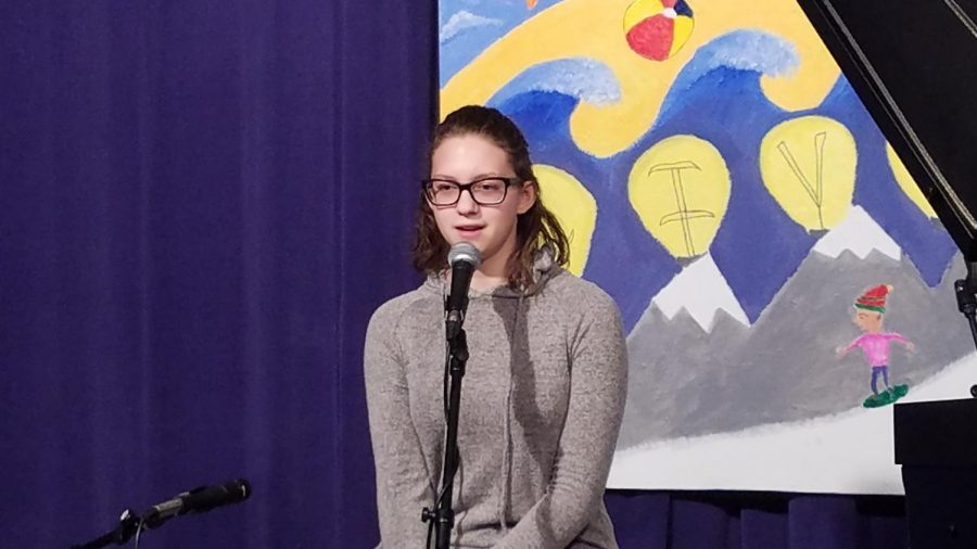 Arianna performs