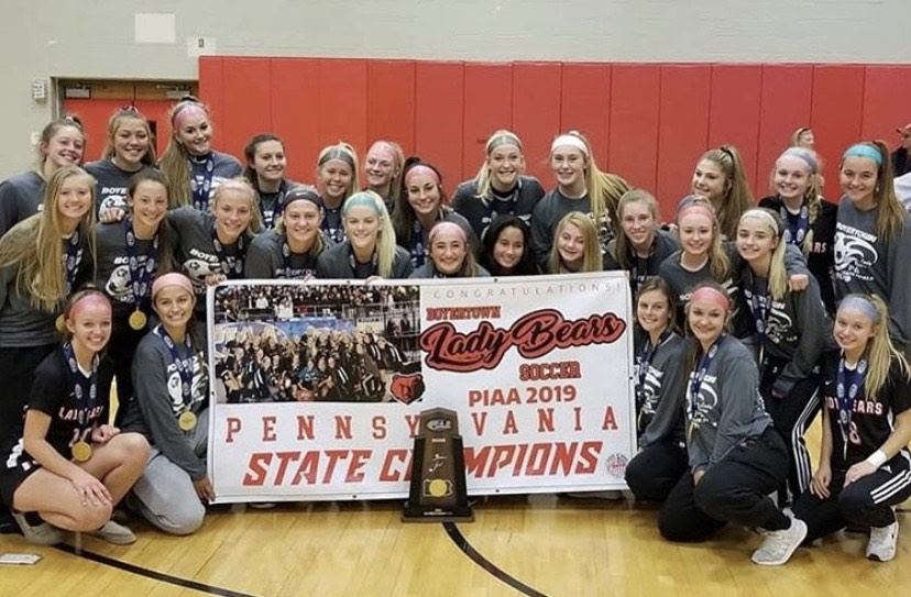 Lady Bears Soccer won their first ever state title this year at the PIAA State Championship in Hershey Park.