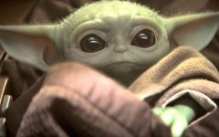 What is considered to be the cutest photo of Baby Yoda