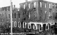 112 Years Since Boyertown's Rhoads Opera House Fire