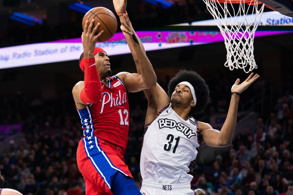 Sixers' Tobias Harris scored 34 points as the Sixers defeated the Brooklyn Nets 117-106 on Wednesday.