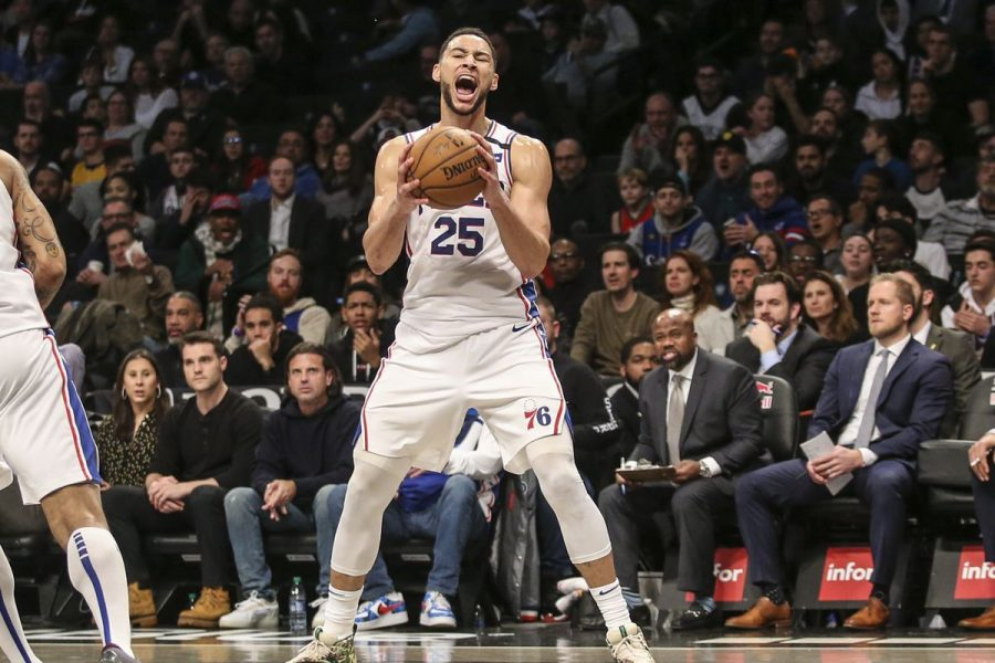 Sixers' Ben Simmons finished the day with 34 points, 12 rebounds, 12 assists, 5 steals, and 2 blocks in the Sixers' 117-111 win.