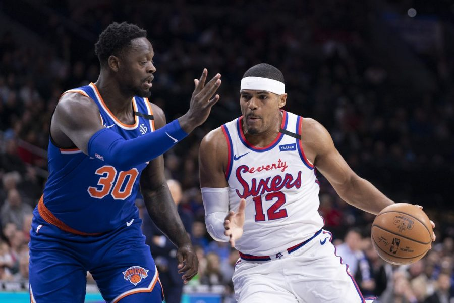 Sixers' Tobias Harris put the team on his back on Thursday night with 34 points in the Sixers' 115-106 win over the Knicks (Liberty Ballers).