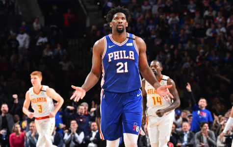 Embiid's Career High Leads Sixers Past Hawks