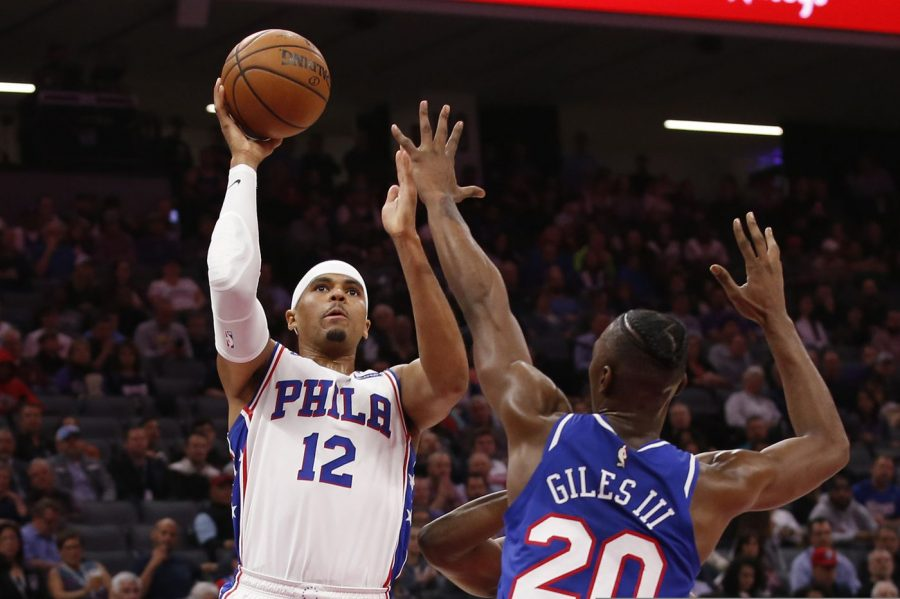 Sixers' Tobias Harris posted a 28 point, 14 rebound double-double to lift the Sixers to a 125-108 win against Sacramento on Thursday (via The Philadelphia Inquirer).