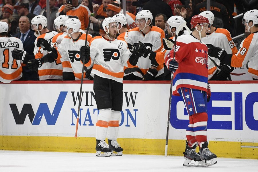 Kevin Hayes' scored his 23rd goal of the season as the Flyers beat the Capitals 5-2 on Wednesday (via The Philadelphia Inquirer).