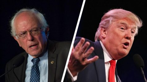 Bernie Sanders and Donald Trump are two polar opposites -- because America wants extremes.