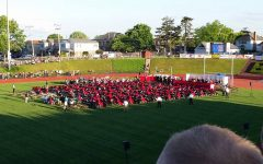 A picture taken at the Class of 2016's graduation, before Memorial Stadium became unstable. Next year, the Class of 2021 should have the ability to choose between Memorial Stadium or Santander Arena, but it is unclear whether Memorial Stadium construction has been delayed due to COVID-19.
