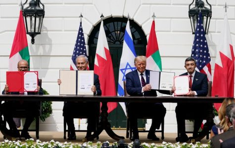 President Trump and Middle East leaders sign Abraham peace accords in White House ceremony