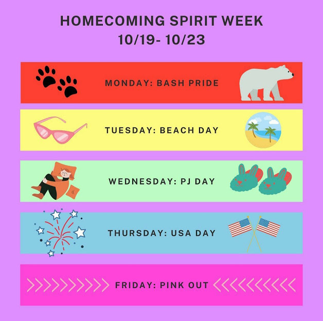 Homecoming Spirit Week 2020