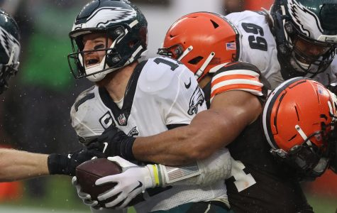 Cleveland Browns defeat the Eagles who's division lead continues to decrease
