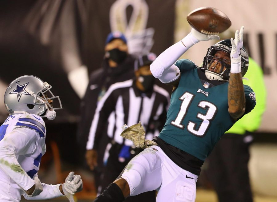 Eagles come out victorious over the rival Dallas Cowboys on Sunday Night Football