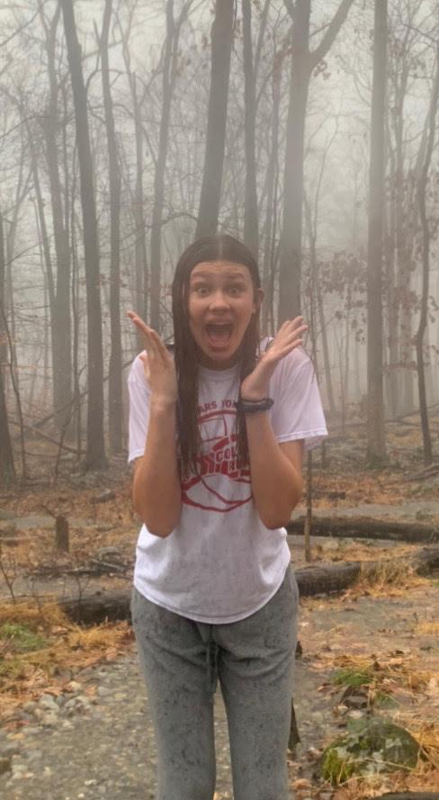 Ninth+Grader+Ella+Albright+is+expressing+her+fear+of+rain++
