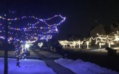 BASH families put their Christmas lights up to get in the holiday spirit
