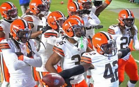 The Head Coachless Cleveland Browns dominate the Pittsburgh Steelers to capture their first playoff win since 1994