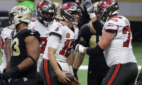 Tampa Bay Buccaneers defeat divisional rival New Orleans Saints in NFC Divisional Round game in quarterback Drew Brees