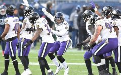 Baltimore Ravens celebrate first playoff win with QB Lamar Jackson by beating the rival Tennessee Titans