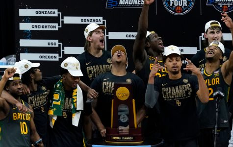 The Baylor Bears bring home their first NCAA basketball tournament victory, ending Gonzaga's undefeated season