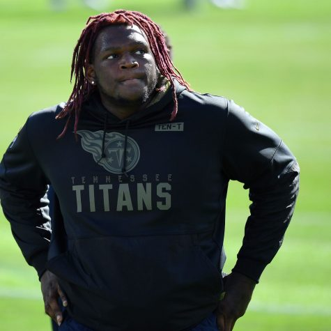 After just two weeks with the Miami Dolphins, offensive tackle, Isaiah Wilson, was cut by the team. Former Titans