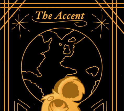 The cover of The Accent 2020-2021.
