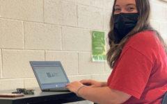 12th Grader Peyton Lutchkus is a student intern at the IT Helpdesk at BASH!