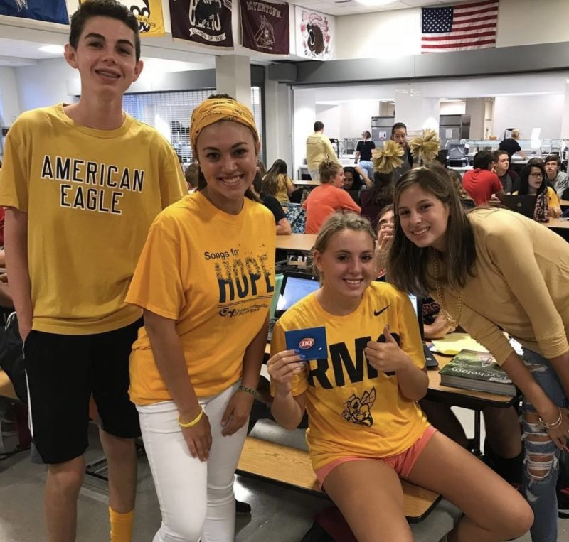 Lets join other schools in the district and help support pediatric cancer research! Photo from Greta Freed, BASH Student Council President