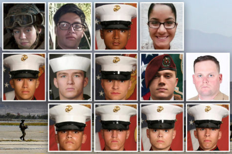 All 13 U.S. Military members that were killed in the bombing at Kabul Airport.