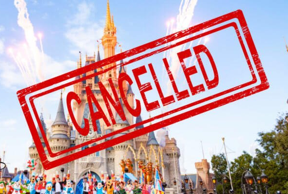 The senior trip to Disney World was cancelled about 5 months before the actual trip was scheduled.